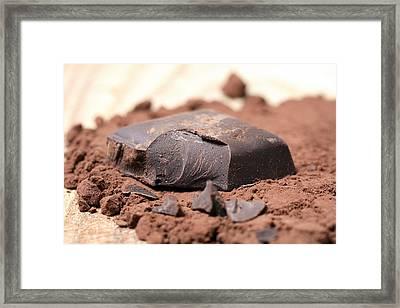 Chocolate Framed Print by Frank Tschakert