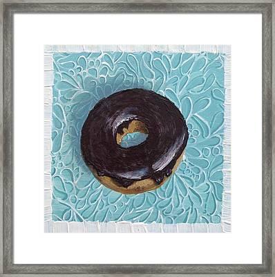 Chocolate Glazed Framed Print