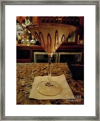Chocolate Martini Framed Print by Jeff Breiman