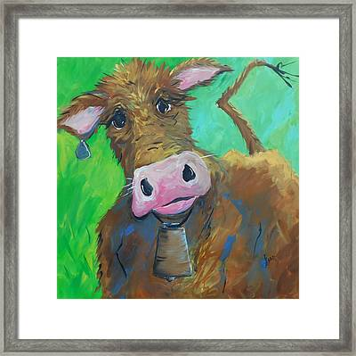 Chocolate Milk Framed Print by Terri Einer