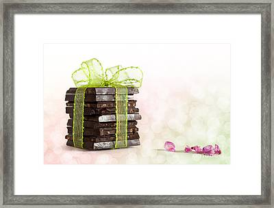 Chocolate Framed Print by Nailia Schwarz