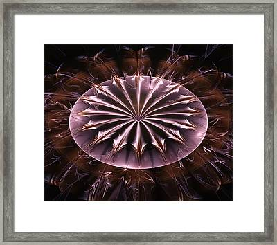 Chocolate Rush Abstract Framed Print