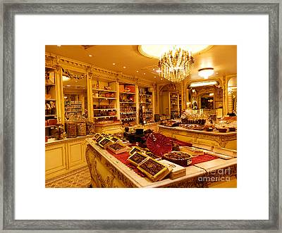 Chocolate Shop Framed Print