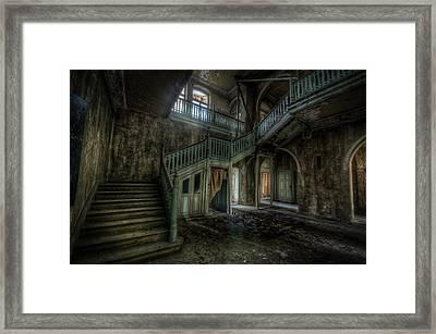 Chocolate Villa Hallway Framed Print by Nathan Wright