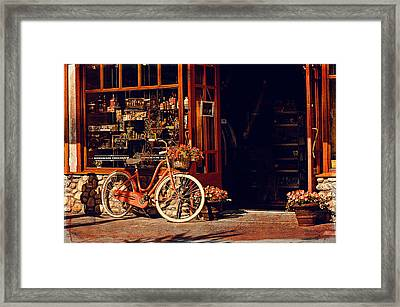 Chocolaterie  Framed Print by Maria Angelica Maira
