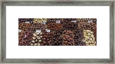 Chocolates  Framed Print by Svetlana Sewell