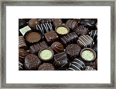 Chocolates Framed Print