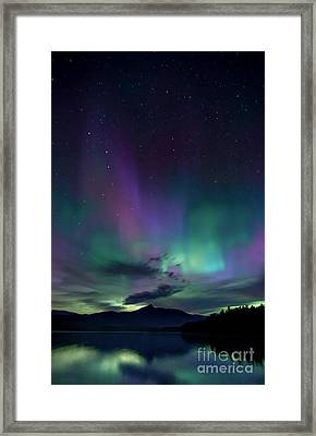 Chocorua Aurora Framed Print by Scott Thorp