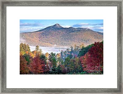 Chocorua Fall Framed Print by Susan Cole Kelly