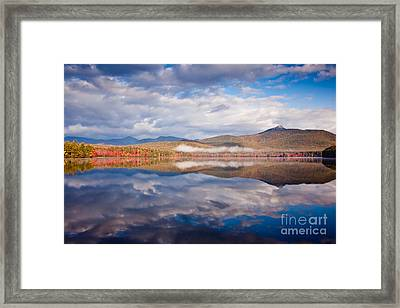Chocorua Reflection Framed Print by Susan Cole Kelly