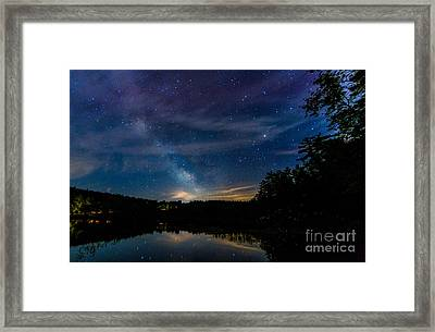 Chocorua The B Side Framed Print by Scott Thorp