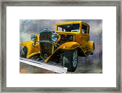 Choice Chevy Framed Print by Tom Pickering of Photopicks Photography and Art
