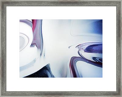 Choice Of Paths Abstract Framed Print