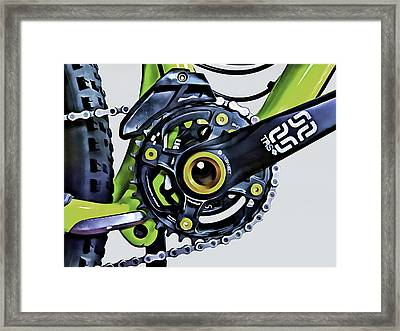 Framed Print featuring the digital art Choice Transport 1 by Wendy J St Christopher
