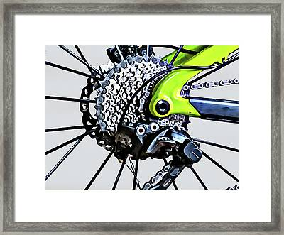 Framed Print featuring the digital art Choice Transport 2 by Wendy J St Christopher