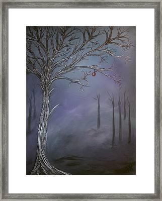 Choice V Framed Print by Patti Spires Hamilton