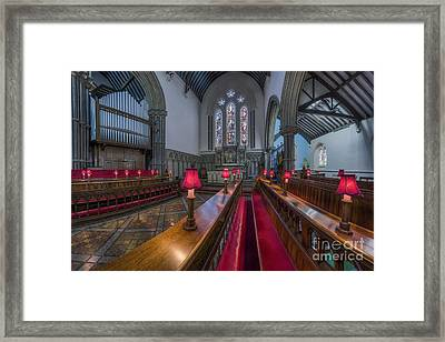Choir Hymns Framed Print by Ian Mitchell