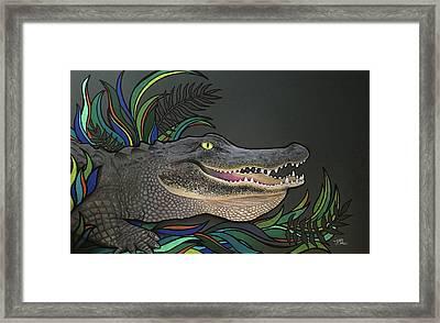 Chomp Framed Print