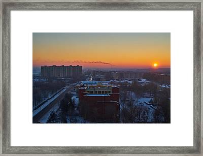 Choo Choo Framed Print