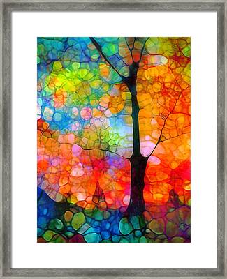 Choosing Happiness Framed Print