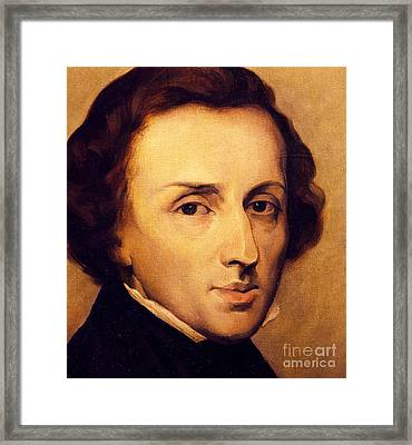 Chopin Framed Print by Ary Scheffer