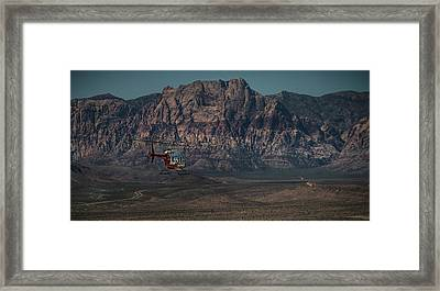Framed Print featuring the photograph Chopper 13-1 by Ryan Smith