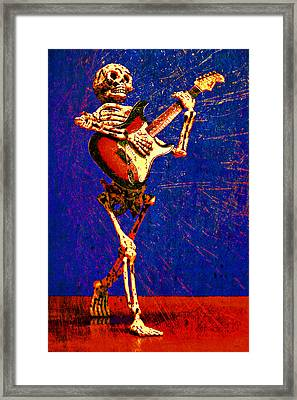 Framed Print featuring the photograph Chops by Jeff Gettis