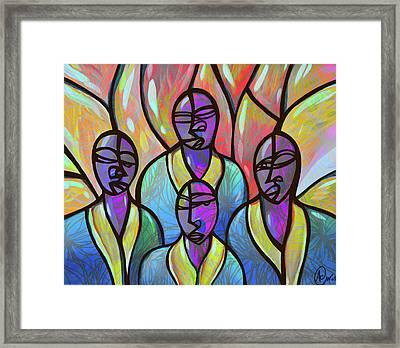 Choir Framed Print