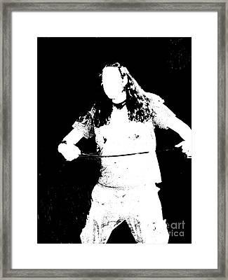 Chord Framed Print by Meghann Brunney