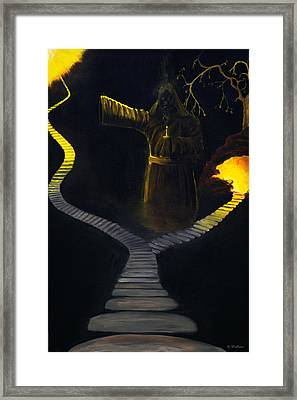 Chosen Path Framed Print by Brian Wallace
