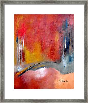 Chosen Path Framed Print by Ruth Palmer
