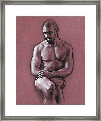 Chris 2 Framed Print by Chris Lopez