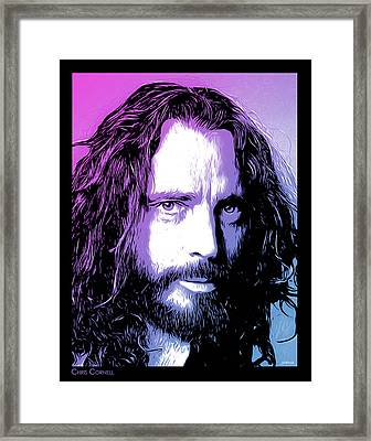 Chris Cornell Tribute Framed Print