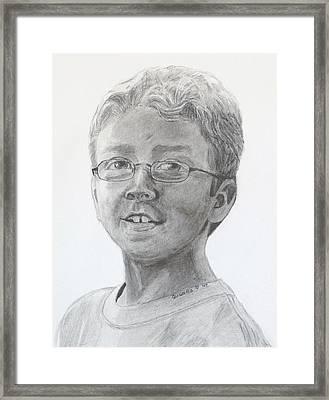 Chris Dovick Framed Print by Quwatha Valentine