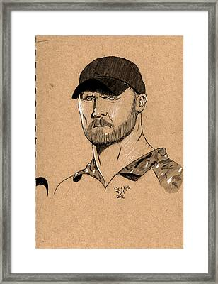 Chris Kyle Framed Print
