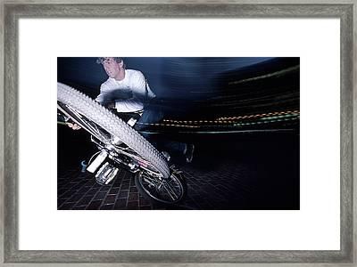 Chris Lashua 1987 Framed Print