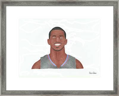 Chris Paul Framed Print