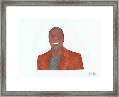 Chris Tucker Framed Print