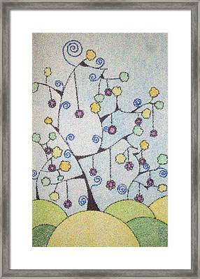 Chrismas Magic Framed Print by Gousalya Siva