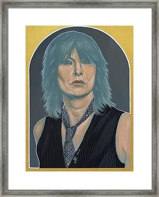 Chrissie Hynde Framed Print by Jovana Kolic