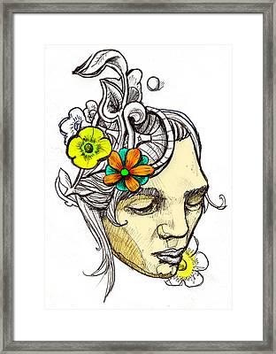 Chrissy Framed Print by John Baker