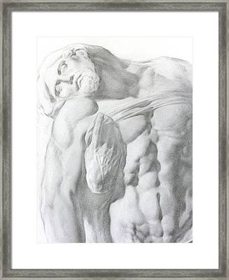 Christ 1a Framed Print by Valeriy Mavlo