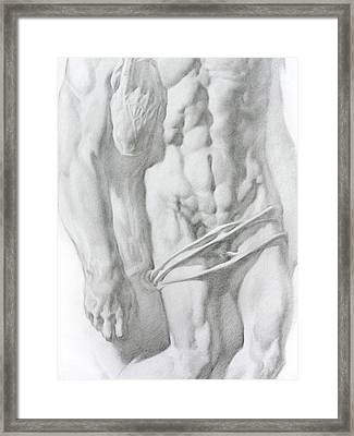 Christ 1b Framed Print by Valeriy Mavlo
