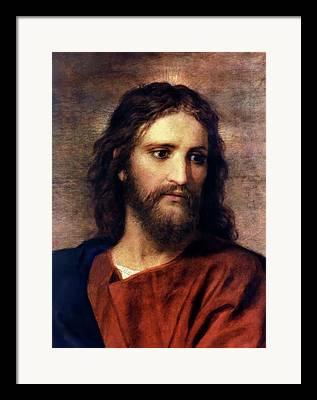 Christ At Thirty Three Framed Prints