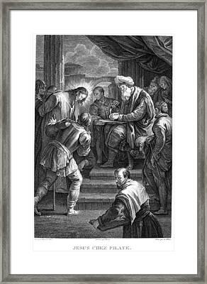 Christ Before Pilate Framed Print by Granger