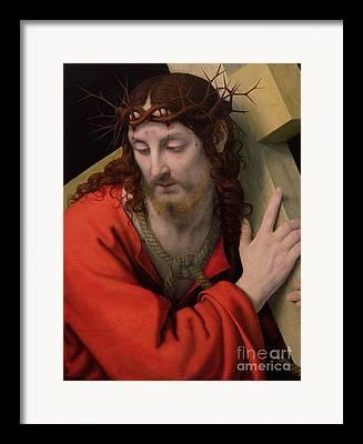 The Wooden Cross Framed Prints