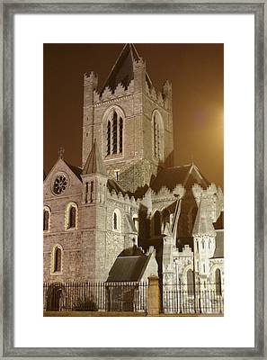Christ Church Dublin Ireland Framed Print by Henri Irizarri