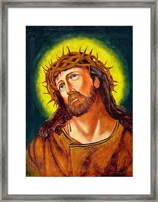 Christ Framed Print