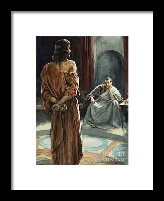 Pontius Pilate Framed Prints