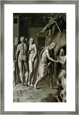 Christ In Limbo Framed Print